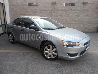 Mitsubishi Lancer 4P ES TM5 A/AC. 6 CD VE USB ALARMA CONTROL/AUDIO  usado (2015) color Plata precio $135,000
