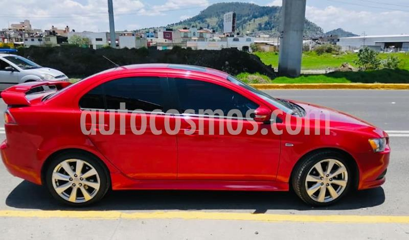 Mitsubishi Lancer GTS CVT Sun & Sound usado (2015) color Rojo precio $150,000