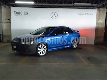 Mitsubishi Lancer 4p GTS q/c aut CD 2.4L Sun & Sound usado (2012) color Azul precio $129,000