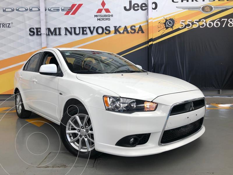 Mitsubishi Lancer ES usado (2015) color Blanco precio $145,000