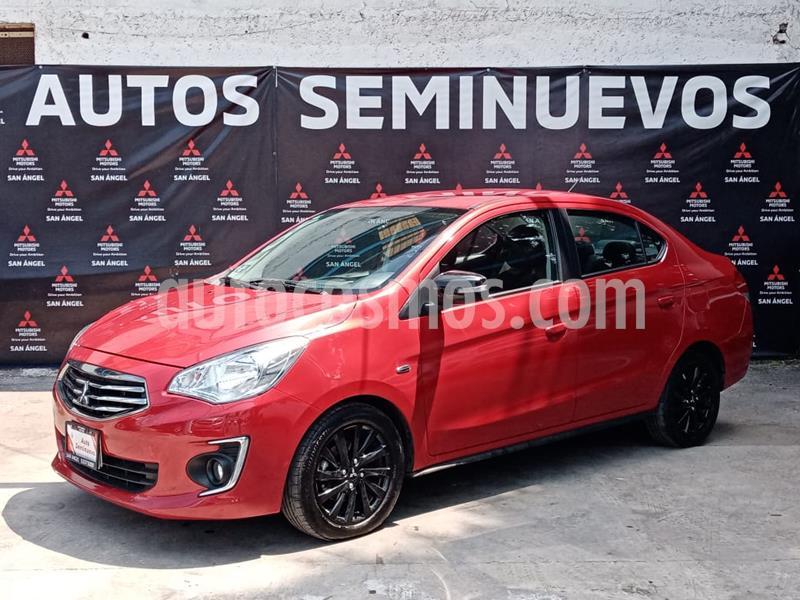 Foto Mitsubishi Mirage G4 GLS Aut usado (2019) color Rojo Metalizado precio $190,000