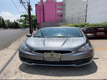 Foto venta Auto usado Mitsubishi Mirage 5p GLS L3/1.2 Man (2019) color Plata precio $190,000