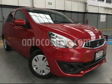 Foto venta Auto Seminuevo Mitsubishi Mirage 5p GLX L3/1.2 Aut (2018) color Rojo precio $175,000