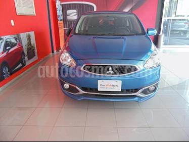 Foto venta Auto usado Mitsubishi Mirage GLS CVT (2018) color Azul precio $193,000