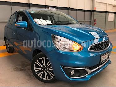 Foto venta Auto usado Mitsubishi Mirage GLS CVT (2017) color Azul precio $185,000