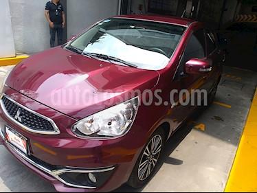 Foto venta Auto usado Mitsubishi Mirage GLS CVT (2018) color Rojo Tinto precio $199,000