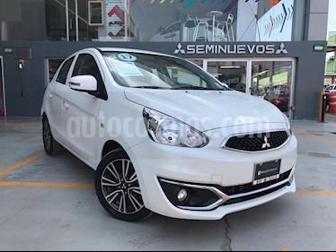 Foto venta Auto Seminuevo Mitsubishi Mirage GLS CVT (2017) color Blanco Perla precio $180,000