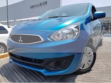 Foto venta Auto usado Mitsubishi Mirage GLS (2017) color Azul precio $135,000