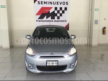 Foto venta Auto usado Mitsubishi Mirage GLS (2016) color Plata precio $165,000