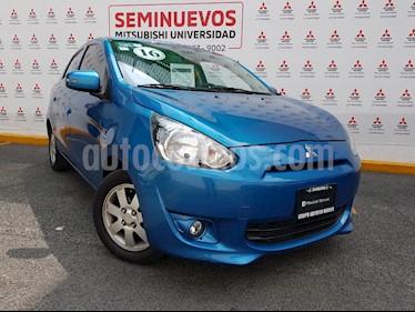 Foto venta Auto usado Mitsubishi Mirage GLS (2016) color Azul precio $139,000