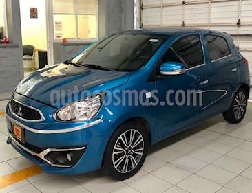 Foto venta Auto usado Mitsubishi Mirage GLS (2017) color Azul precio $160,000