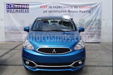 Foto venta Auto usado Mitsubishi Mirage GLS (2018) color Azul precio $199,900