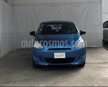 Foto venta Auto usado Mitsubishi Mirage GLX CVT (2015) color Azul precio $130,000