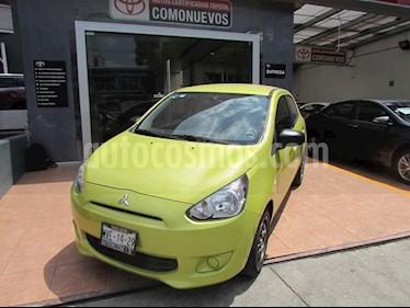 Foto venta Auto usado Mitsubishi Mirage GLX CVT (2015) color Amarillo precio $225,000