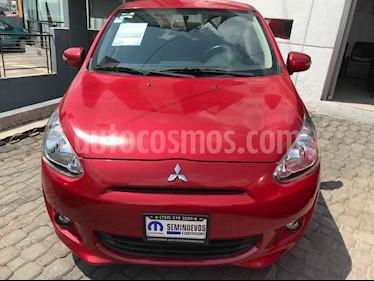 Foto venta Auto usado Mitsubishi Mirage GLX (2016) color Rojo precio $145,000
