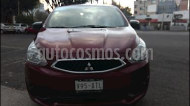 Foto venta Auto Seminuevo Mitsubishi Mirage GLX (2017) color Rojo Tinto precio $145,000