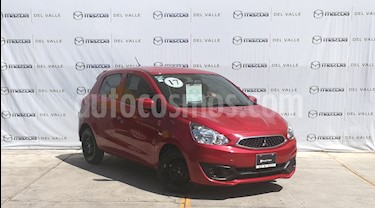 Foto venta Auto usado Mitsubishi Mirage GLX (2017) color Rojo precio $155,000