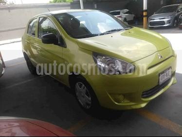 Foto venta Auto usado Mitsubishi Mirage GLX (2016) color Amarillo precio $134,000