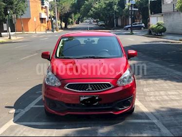 Mitsubishi Mirage GLX usado (2018) color Rojo precio $127,000