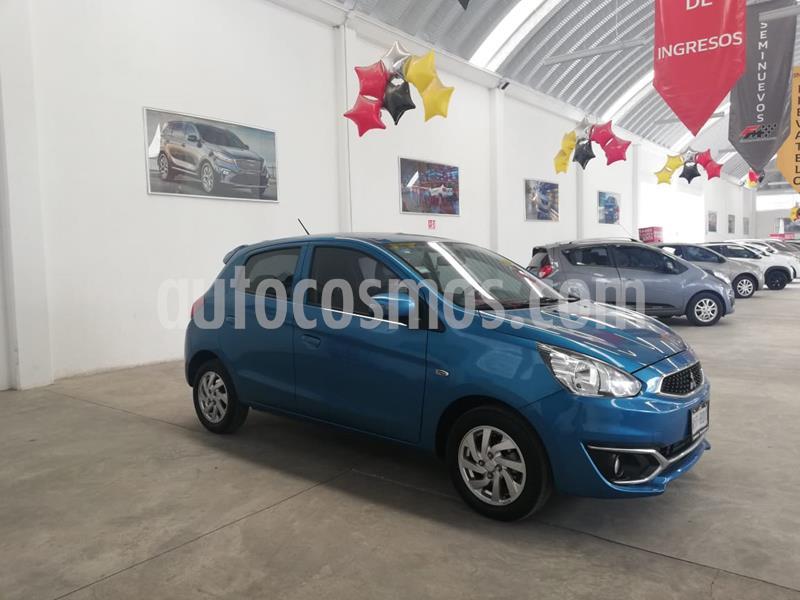 Mitsubishi Mirage GLS usado (2019) color Azul precio $189,000