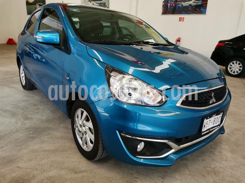 Mitsubishi Mirage GLS usado (2019) color Azul precio $168,000