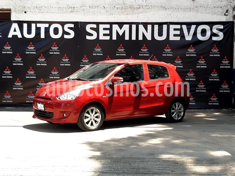 Mitsubishi Mirage GLS CVT usado (2016) color Rojo precio $145,000