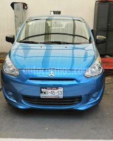 Mitsubishi Mirage GLX usado (2016) color Azul precio $100,000