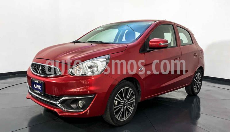 Mitsubishi Mirage GLS CVT usado (2017) color Rojo precio $177,999