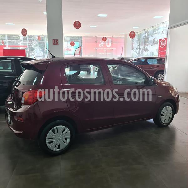 Mitsubishi Mirage GLX CVT usado (2019) color Rojo precio $179,000