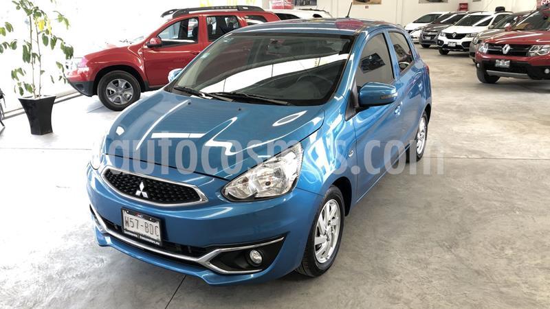 Mitsubishi Mirage GLS usado (2019) color Azul precio $175,000