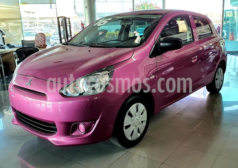 Mitsubishi Mirage GLX usado (2016) color Rosa Lady precio $135,000