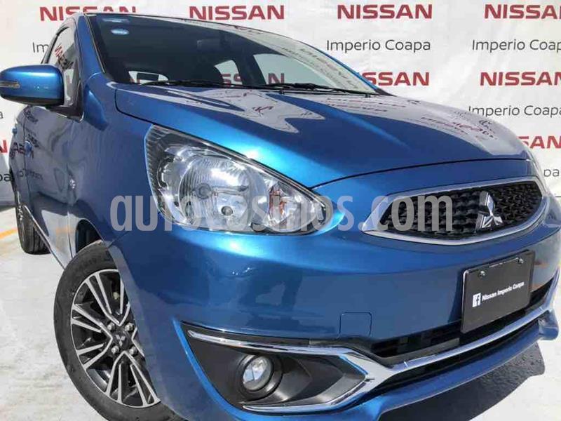 Mitsubishi Mirage GLS CVT usado (2018) color Azul precio $169,000