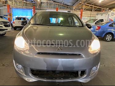 Mitsubishi Mirage GLX usado (2016) color Plata precio $99,000