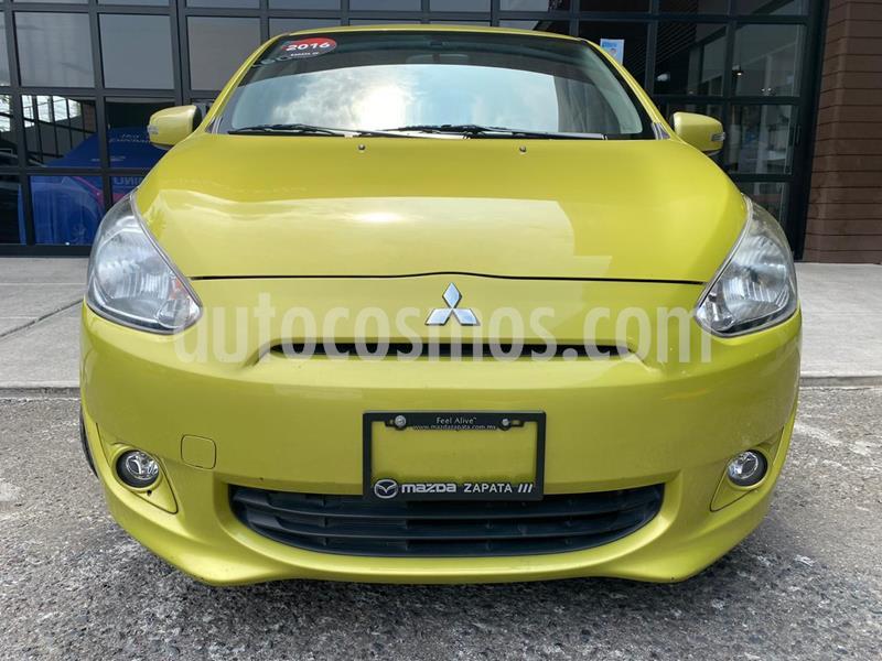 Mitsubishi Mirage GLS usado (2016) color Verde precio $120,000
