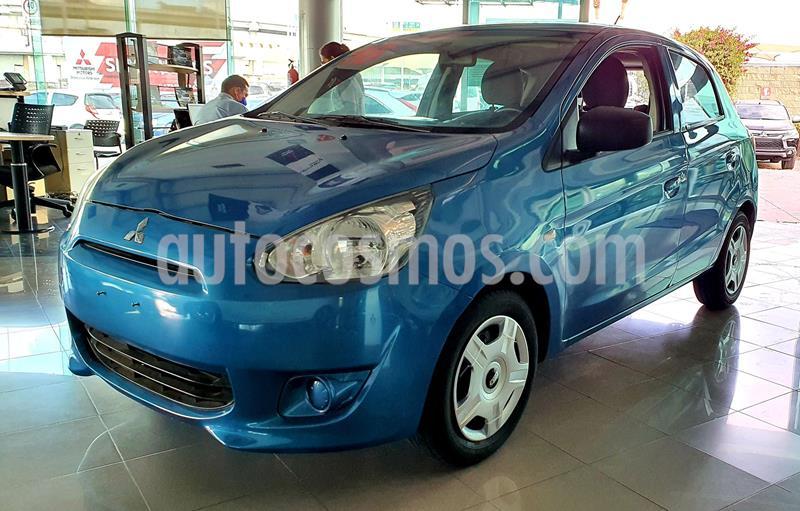 Mitsubishi Mirage GLX usado (2016) color Azul precio $135,000