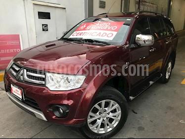 Foto venta Auto Seminuevo Mitsubishi Montero Sport 3.5L Sun & Sound (2014) color Rojo precio $245,000