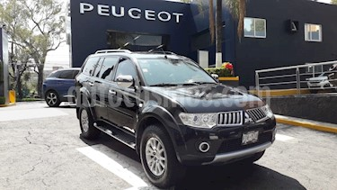 Foto venta Auto usado Mitsubishi Montero Sport 3.5L (2012) color Negro precio $184,900