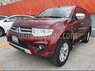 Foto venta Auto usado Mitsubishi Montero Sport Advance 4X2 (2014) color Rojo precio $249,000