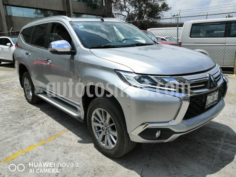 Mitsubishi Montero Sport Advance 4X4 usado (2018) color Plata precio $435,000