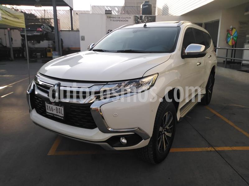 Mitsubishi Montero Sport Advance 4X4 usado (2019) color Blanco precio $520,000