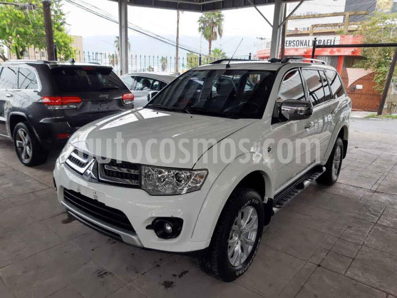 foto Mitsubishi Montero Sport 3.5L Sun & Sound usado (2015) color Blanco precio $220,000