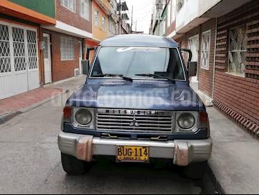 Foto venta Carro usado Mitsubishi Montero 35 Mec.WagonImp- (1993) color Azul precio $16.000.000