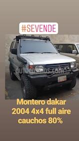 Foto venta carro usado Mitsubishi Montero Dakar (2004) color Plata precio u$s4.800