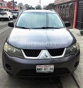 Foto venta Auto usado Mitsubishi Outlander 2.4L ES (2008) color Grafito precio $112,000