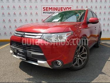 Foto venta Auto usado Mitsubishi Outlander 2.4L Limited (2015) color Rojo precio $269,000