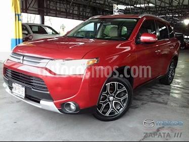 Foto venta Auto usado Mitsubishi Outlander 2.4L Limited (2015) color Rojo precio $255,000