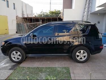 Foto venta Auto usado Mitsubishi Outlander 2.4L LS  (2013) color Negro precio $185,000