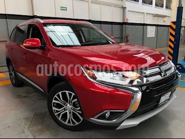 Foto venta Auto usado Mitsubishi Outlander 2.4L SE Plus (2017) color Rojo precio $360,000