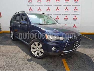 Foto venta Auto usado Mitsubishi Outlander 3.0L Limited (2012) color Azul precio $172,000