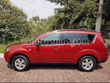 Foto venta Auto usado Mitsubishi Outlander 3.0L LS (2008) color Rojo precio $124,600